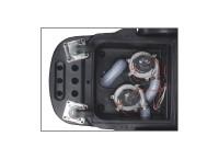 Panel removible para fácil acceso a motores